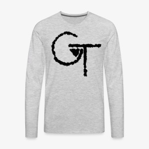 Blurred Logo - Men's Premium Long Sleeve T-Shirt