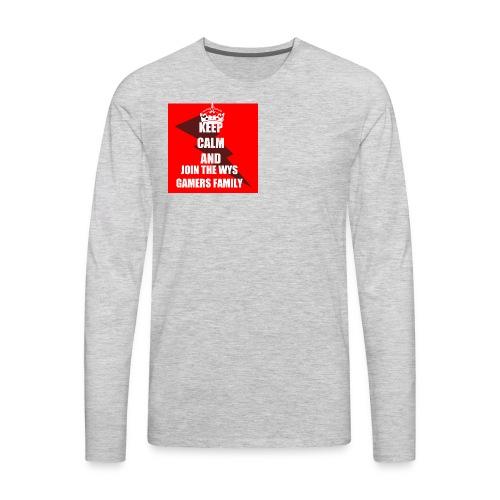 Keepcalm - Men's Premium Long Sleeve T-Shirt