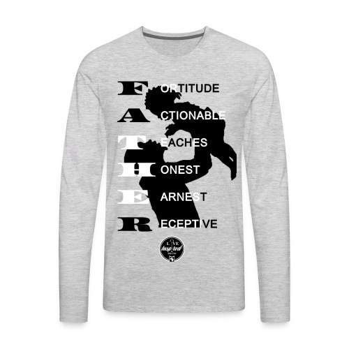 The Father - Men's Premium Long Sleeve T-Shirt