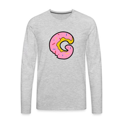 Donut G - Men's Premium Long Sleeve T-Shirt