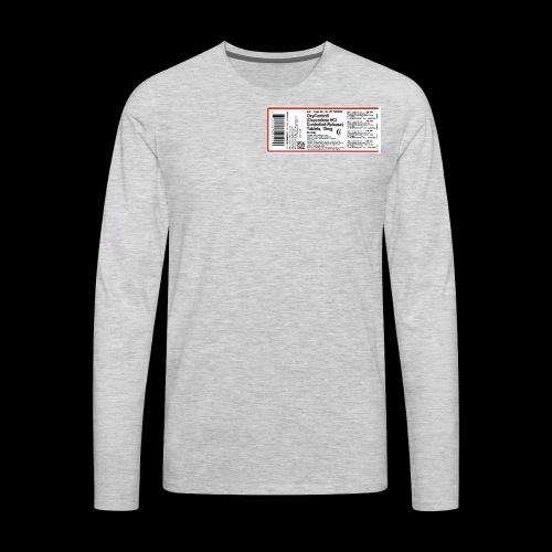 OX - Men's Premium Long Sleeve T-Shirt