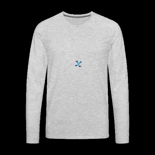 Predrax Ninja X Exclusive Premium Water Bottle - Men's Premium Long Sleeve T-Shirt