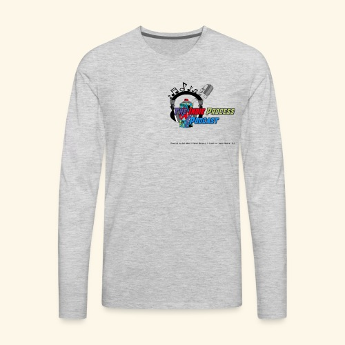 The Indie Process Podcast Hoodies - Men's Premium Long Sleeve T-Shirt