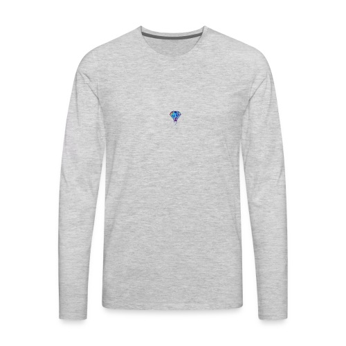 The Savage max Diamond - Men's Premium Long Sleeve T-Shirt