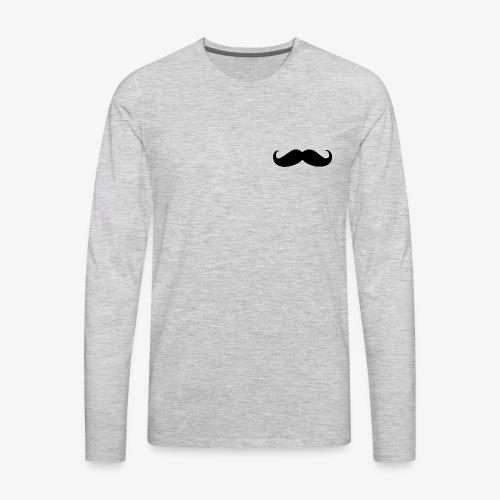 Movember - Men's Premium Long Sleeve T-Shirt