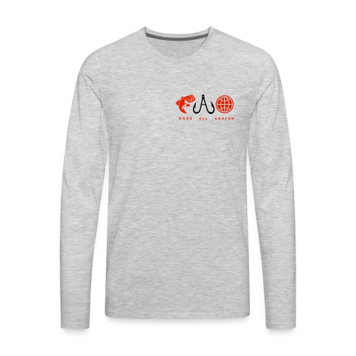 Bass All Around Logo Shirt - Men's Premium Long Sleeve T-Shirt