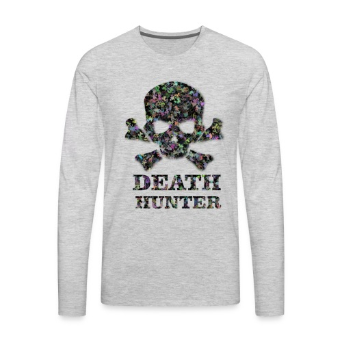 death hunter - Men's Premium Long Sleeve T-Shirt