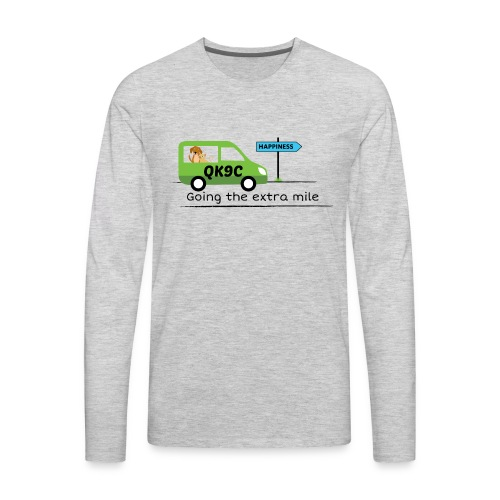 Going the extra mile - Men's Premium Long Sleeve T-Shirt