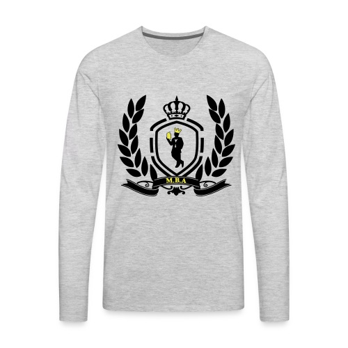Conscious King (Crest) - Men's Premium Long Sleeve T-Shirt