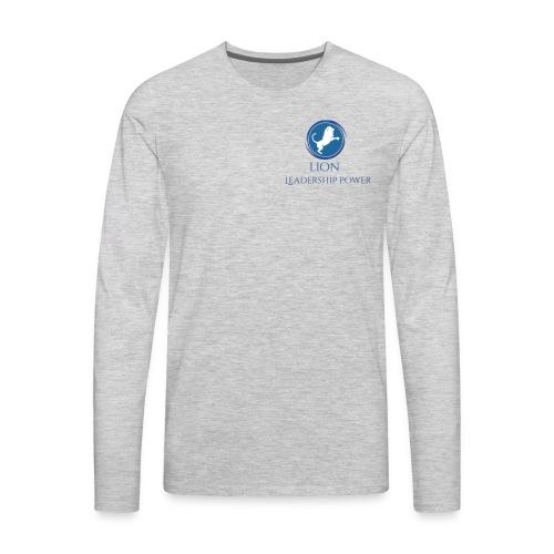Lion Design - Men's Premium Long Sleeve T-Shirt