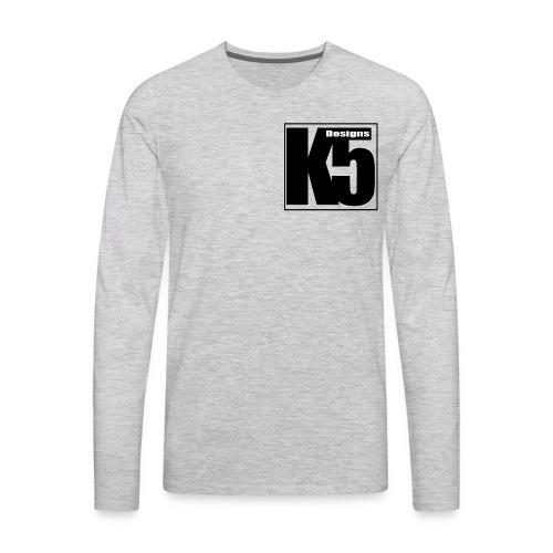 K5 Designs - Men's Premium Long Sleeve T-Shirt