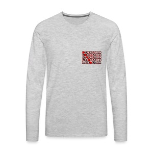 Hoxen- Long Sleeve - Men's Premium Long Sleeve T-Shirt