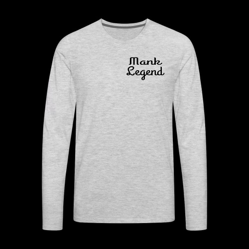 Logo Shirt Simple - Men's Premium Long Sleeve T-Shirt