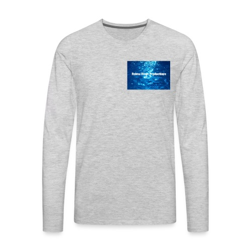 Robsu Vlogs Productions - Men's Premium Long Sleeve T-Shirt