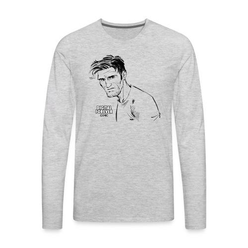 Alex King of Digital Forever - Men's Premium Long Sleeve T-Shirt