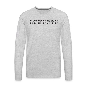 RESPECTED (With IBIM) - Men's Premium Long Sleeve T-Shirt