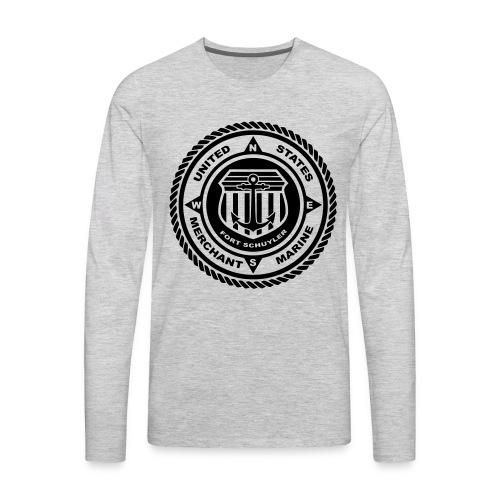 USMM Logo - Men's Premium Long Sleeve T-Shirt
