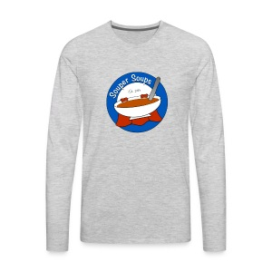 Souper Soups Merchandise - Men's Premium Long Sleeve T-Shirt