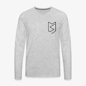 Messy Supply Urban Logo - Men's Premium Long Sleeve T-Shirt