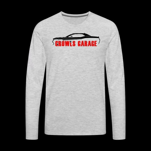 Growls Garage - Men's Premium Long Sleeve T-Shirt