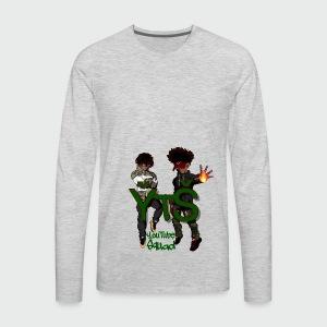 prince yt 334 super deux merchandise - Men's Premium Long Sleeve T-Shirt