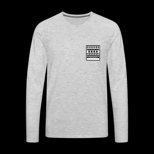 t-shirt bolso mandala - Men's Premium Long Sleeve T-Shirt