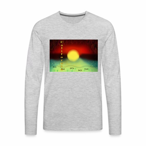Sunset By Sea, California Product - Men's Premium Long Sleeve T-Shirt