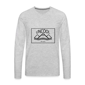 uncool_bw - Men's Premium Long Sleeve T-Shirt