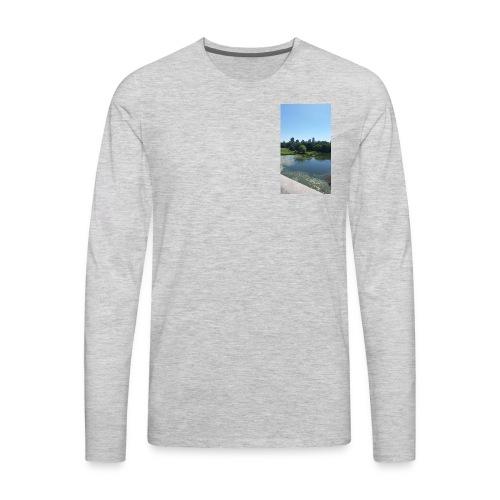 New York scenery - Men's Premium Long Sleeve T-Shirt