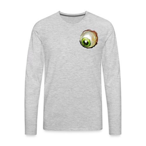 paranoid eyes - Men's Premium Long Sleeve T-Shirt