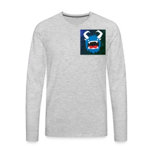 YouTube Icon - Men's Premium Long Sleeve T-Shirt
