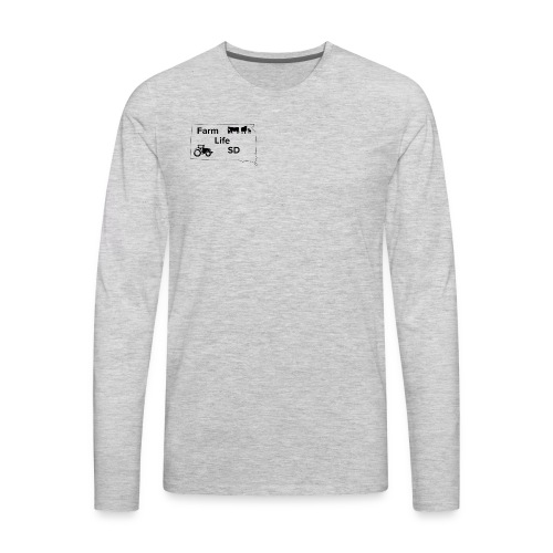 Farm Life SDs Main Logo - Men's Premium Long Sleeve T-Shirt