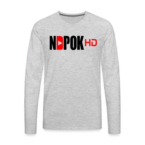 NdpokHD channel - Men's Premium Long Sleeve T-Shirt
