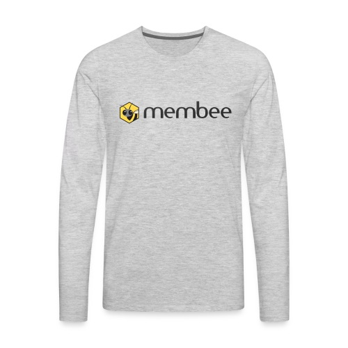 Membee Logo - Men's Premium Long Sleeve T-Shirt