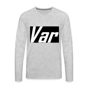 Var Long Sleeve - Men's Premium Long Sleeve T-Shirt