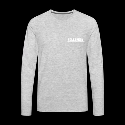 Exclusive ROLLERBOY NAME LABLE - Men's Premium Long Sleeve T-Shirt