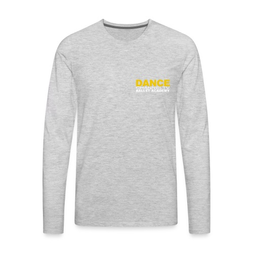 Dance Channel TV Logo - Men's Premium Long Sleeve T-Shirt