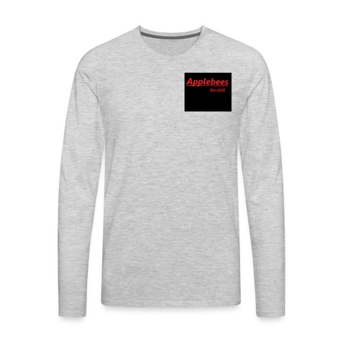 apple/work shirts - Men's Premium Long Sleeve T-Shirt
