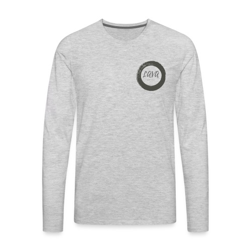 Free Spirit Lava Yourself - Men's Premium Long Sleeve T-Shirt