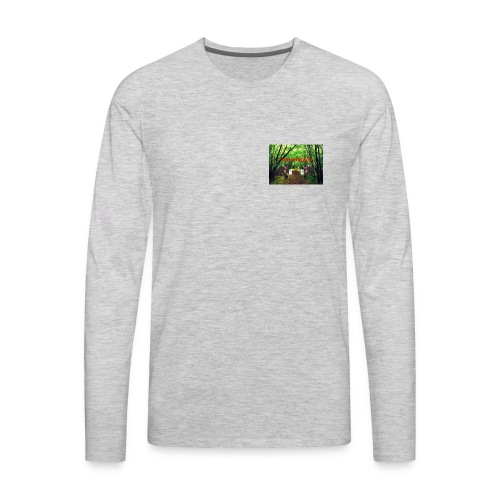 MOOSEMILK to high - Men's Premium Long Sleeve T-Shirt