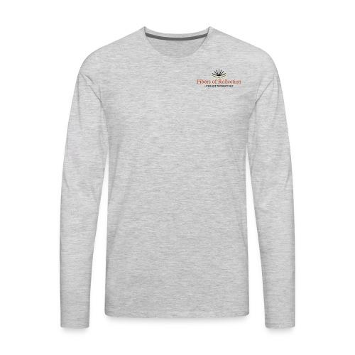 Fibers of Reflection - Men's Premium Long Sleeve T-Shirt