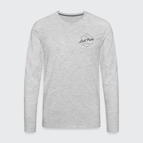 Last PIcks Logo - Men's Premium Long Sleeve T-Shirt