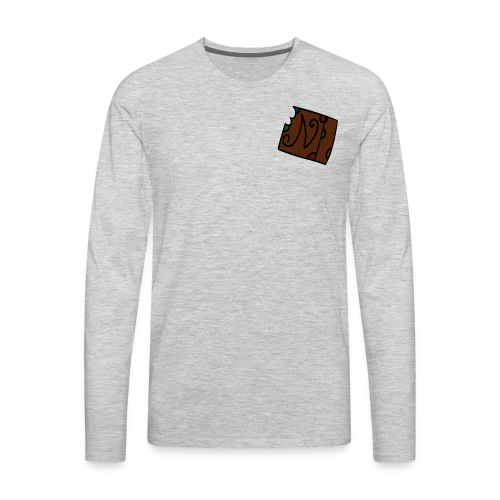 nemation brownie - Men's Premium Long Sleeve T-Shirt