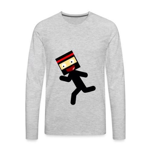 Stickmam Collection - Men's Premium Long Sleeve T-Shirt