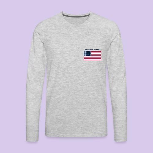 God Bless America - Men's Premium Long Sleeve T-Shirt