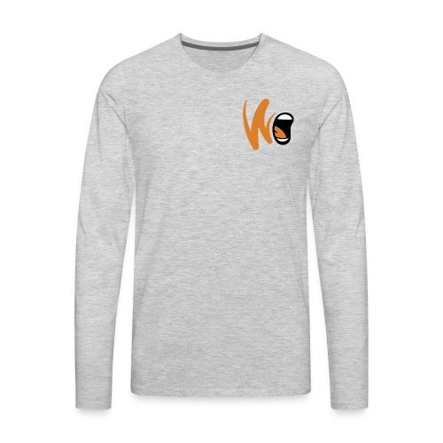 Project Scream Logo - Men's Premium Long Sleeve T-Shirt