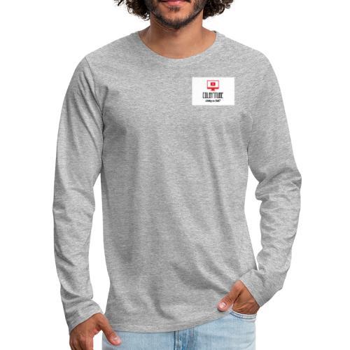 Colby's motivation Youtube Channel!! - Men's Premium Long Sleeve T-Shirt