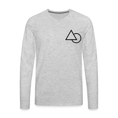 Symbiote Triangle Clothe - Men's Premium Long Sleeve T-Shirt