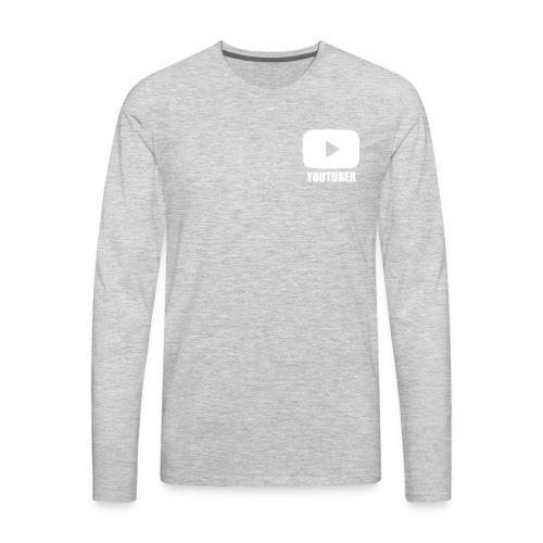 Youtuber Shirt - Men's Premium Long Sleeve T-Shirt