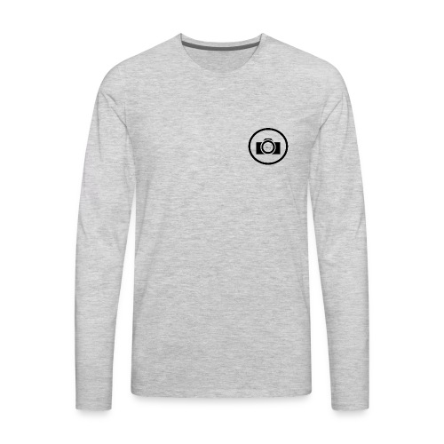 Henri Fichet logo - Men's Premium Long Sleeve T-Shirt